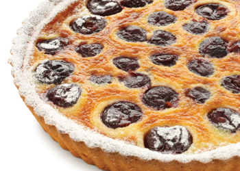 Clafoutis with Tea-steeped Prunes