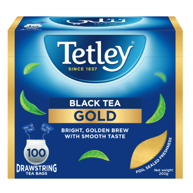 Tetley Black Tea Gold