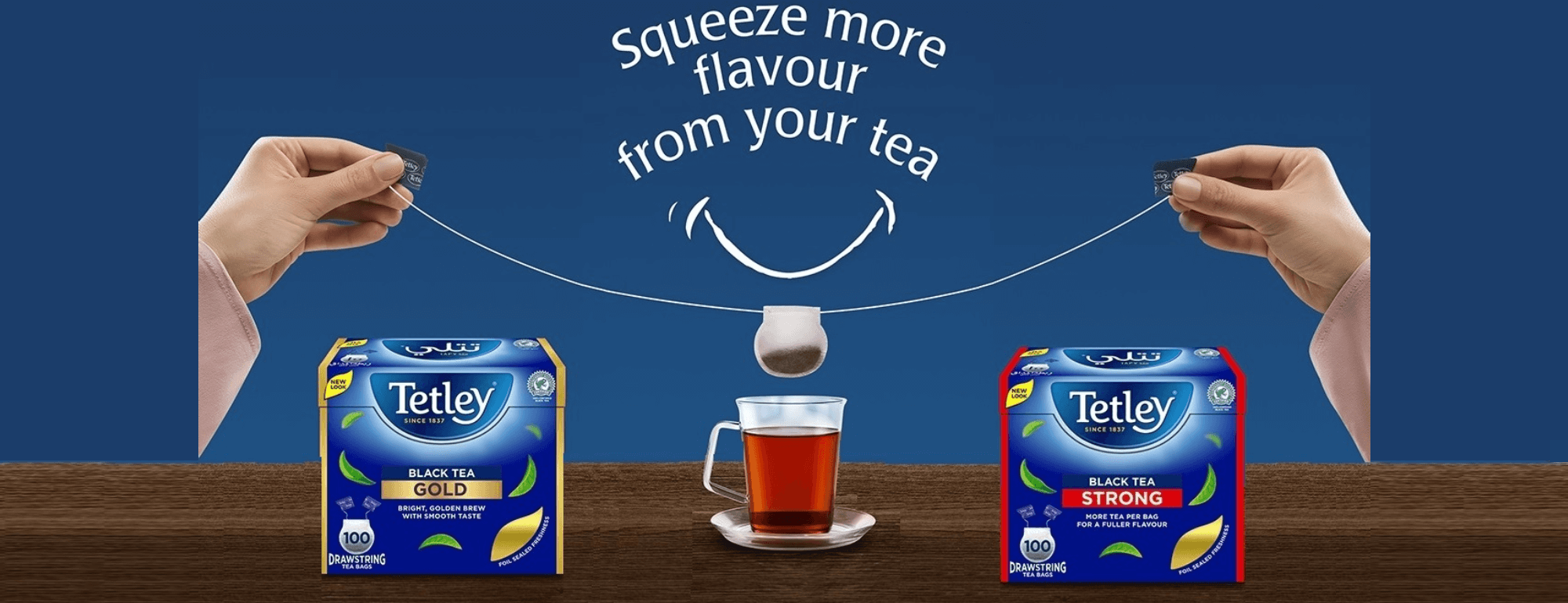 Squeeze full flavour from your tea